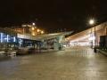 Salt & Tasty und centraal station Rotterdam Nachtaufnahme