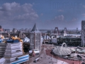 Über den Dächern von Rotterdam