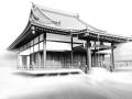 Buddistischer Tempel im Japanischen Garten Düsseldorf