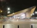 Centraal Station Rotterdam Nachtaufnahme
