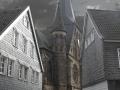 Mettmann Kirche mit Logo
