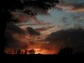 IMG_0591  Sonnenuntergang vor Kappeln 0591