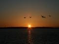 Ostsee April 2012  Geltinger Bucht Sonnenuntergang   0630