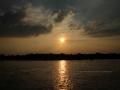 Sonnenuntergang Duesseldorf am Rhein 0004