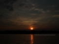 Sonnenuntergang Duesseldorf am Rhein 0051