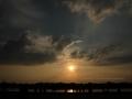Sonnenuntergang Duesseldorf am Rhein 0002