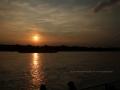 Sonnenuntergang Duesseldorf am Rhein 0026