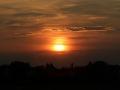 Sonnenuntergang Duesseldorf am Rhein 0048