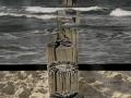 Panorama Strand Wasser Himmel 2