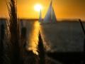 Ostsee Geltinger Bucht Sonnenuntergang