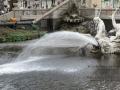 Springbrunnen Wasserspiel
